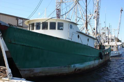 Shrimp boats page 2 east coast marine ship brokers for Commercial fishing boats for sale gulf coast