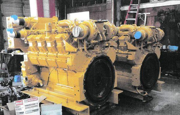 2 – 3508 Cat Motors