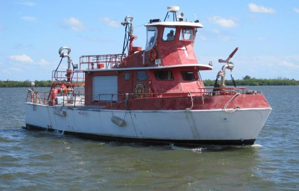 C-496   Fire Rescue  Vessel